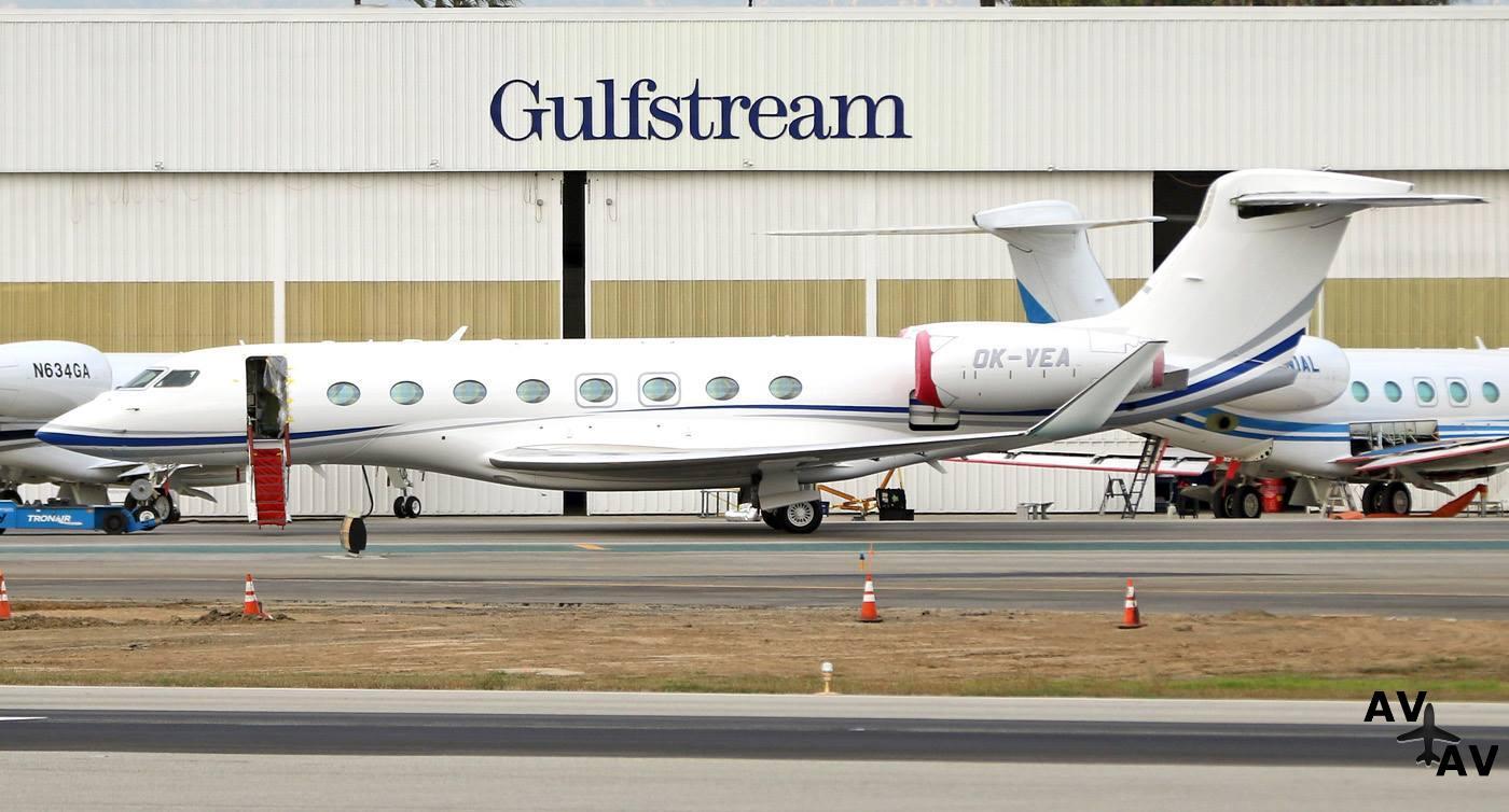 Фотофакт: В Чехию поставлен первый Gulfstream G650