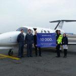 ABS Jets обслужила 10000-й бизнес-джет