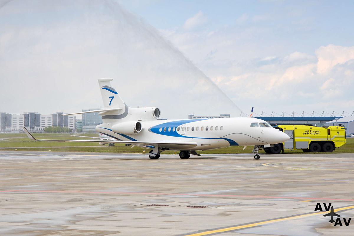 ABS Jets стал первым оператором Falcon 7X в Чехии
